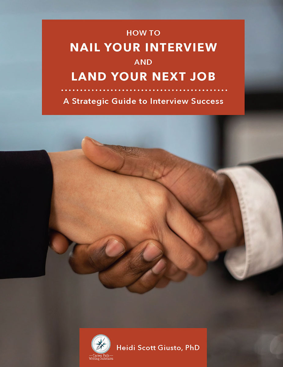 Nail Your Interview Workbook